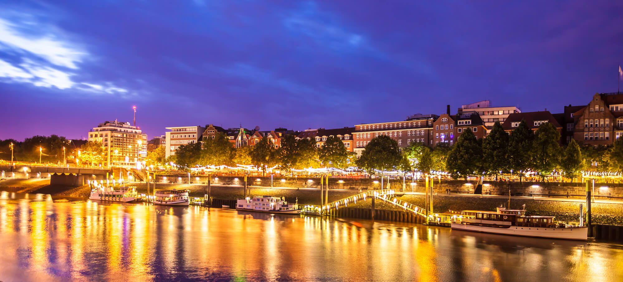 Historische Uferpromenade Schlachte